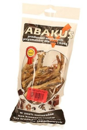Abakus Kurze łapki naturalne 9 sztuk