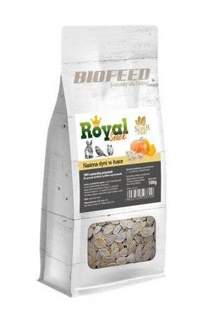 BIOFEED Royal Snack SuperFood - łuskane nasiona dyni 200g