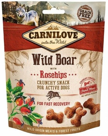Carnilove Crunchy Snack Wild Boar & Rosehips With Fresh Meat 200 g