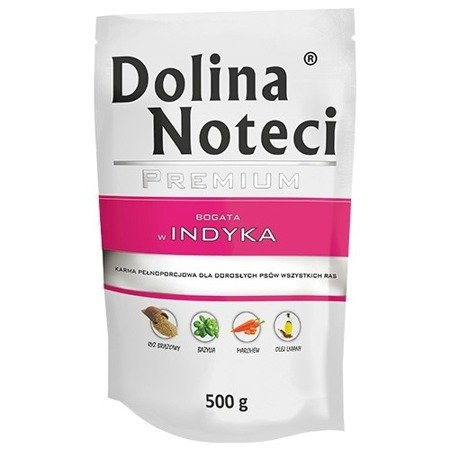 DOLINA NOTECI PREMIUM BOGATA W INDYKA 500 g
