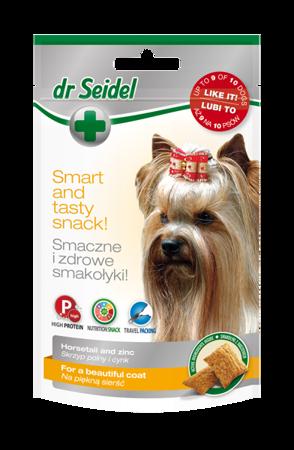 DR SEIDEL SMAKOŁYKI na piękną sierść dla psów 90 g