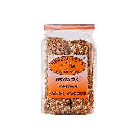 HERBAL Pets Gryzaczki warzywne - gryzonie 160 g