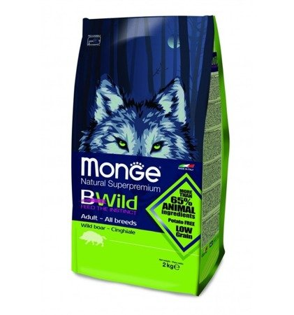 Monge BWild Adult Dzik 7,5 kg