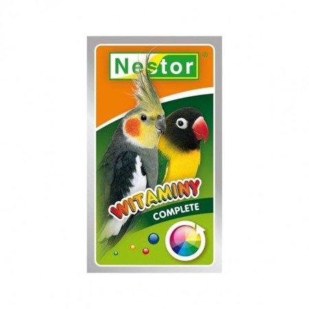 Nestor Complete witaminy ogólne dla średnich papug 20 g