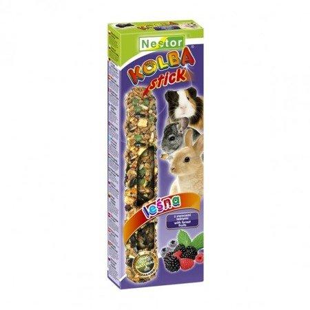 Nestor Kolba dla gryzoni i królików z owocami leśnymi LEŚNA 2 szt.