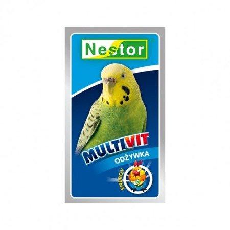 Nestor Multivit odżywka dla papużek falistych 20 g