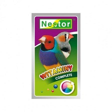 Nestor witaminy Complete dla ptaszków egzotycznych 20 g