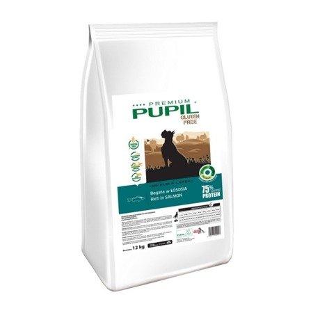 PUPIL Premium GLUTEN FREE MEDIUM & LARGE bogata w łososia 12 kg