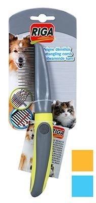 RIGA Grzebień obrotowy, rozczesujący dla psa i kota