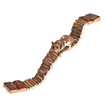 Trixie Zabawka Drabinka most wiszący 7 cm 55 cm