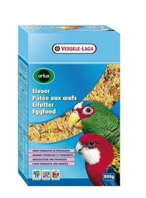 Versele Laga Orlux Eggfood Large Parakeets and Parrots 800g - pokarm jajeczny suchy dla średnich i dużych papug